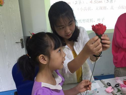 母亲节花艺活动