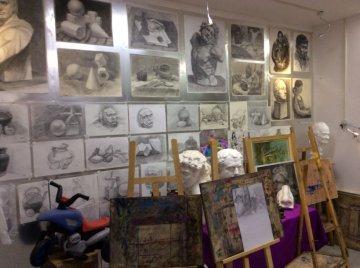 高考美术全过程图片