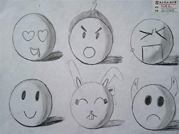 创意素描班图片