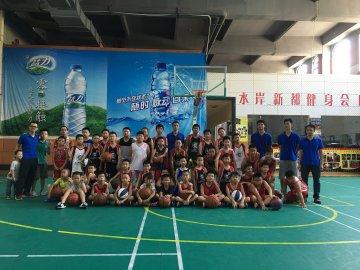 【龙飞篮球训练营】 - 水岸新都(室内球馆)