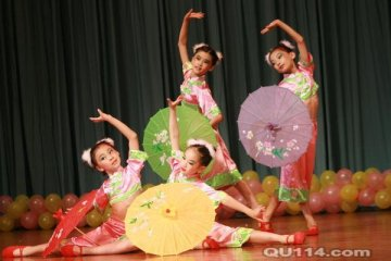 中国舞一级(幼儿)