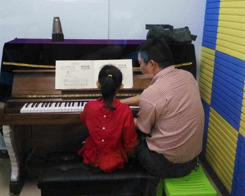 钢琴一对一主课