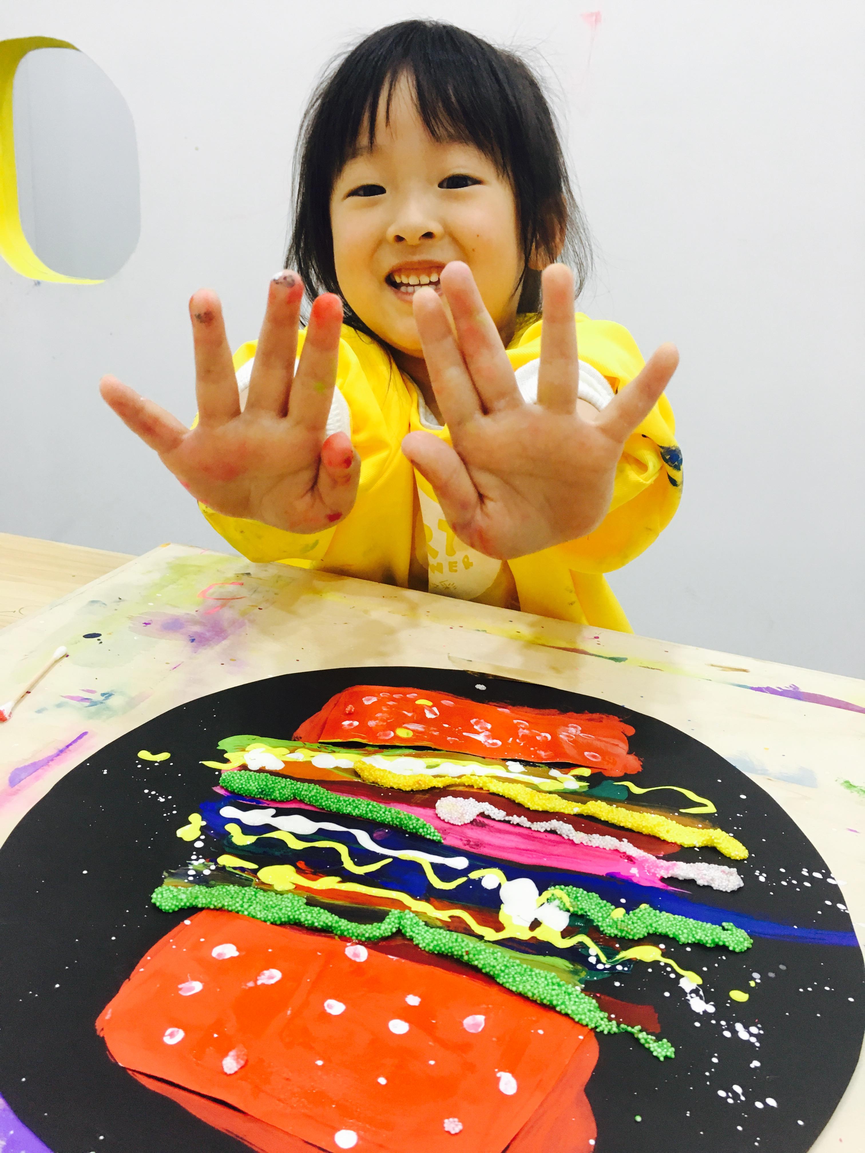 创意宝宝涂鸦(3-6岁)图片
