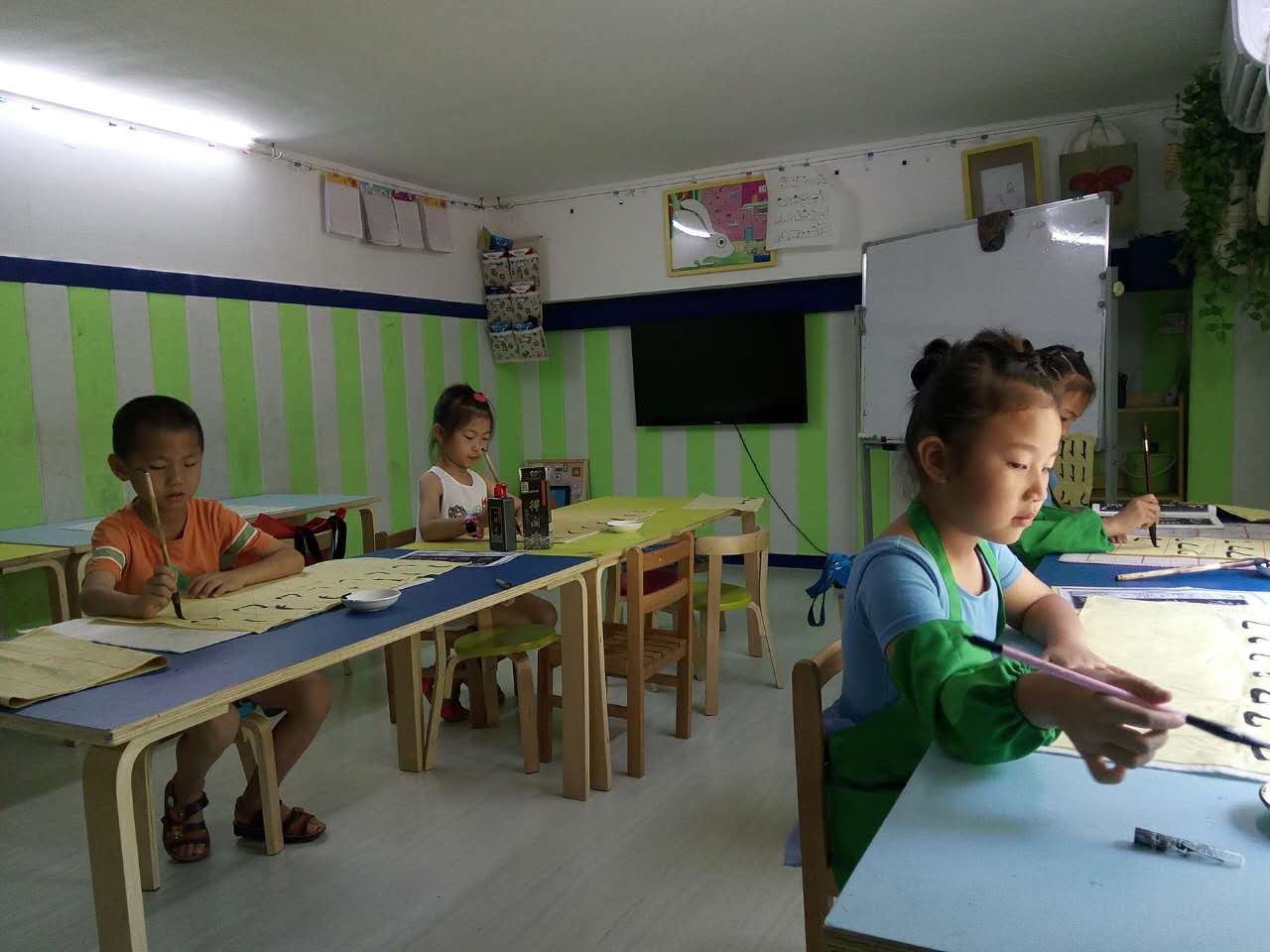 书法软笔1班暑假班(雅筑)