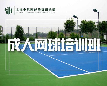 成人网球培训班