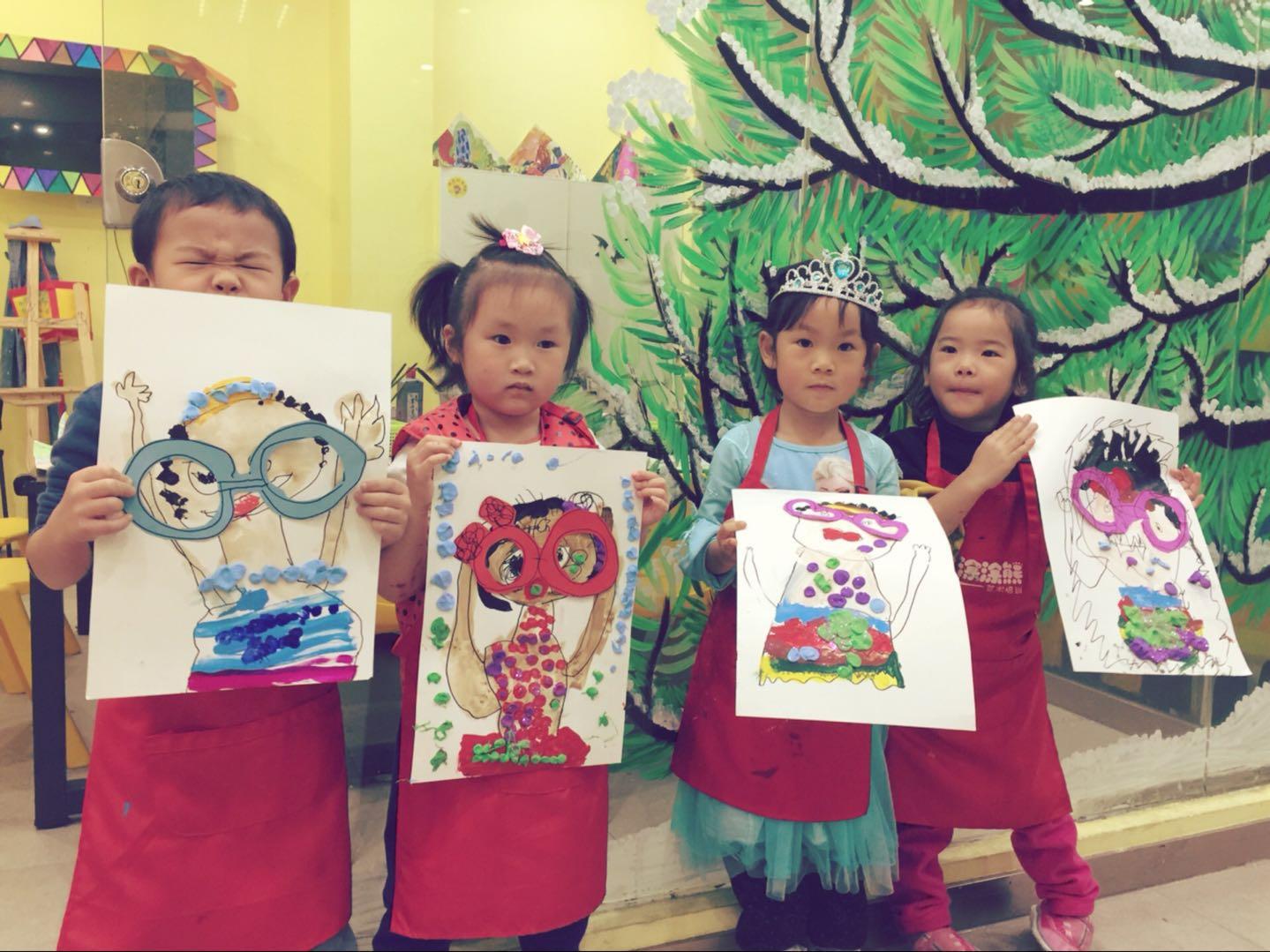 鸦咪小小班3-4岁美术课程图片