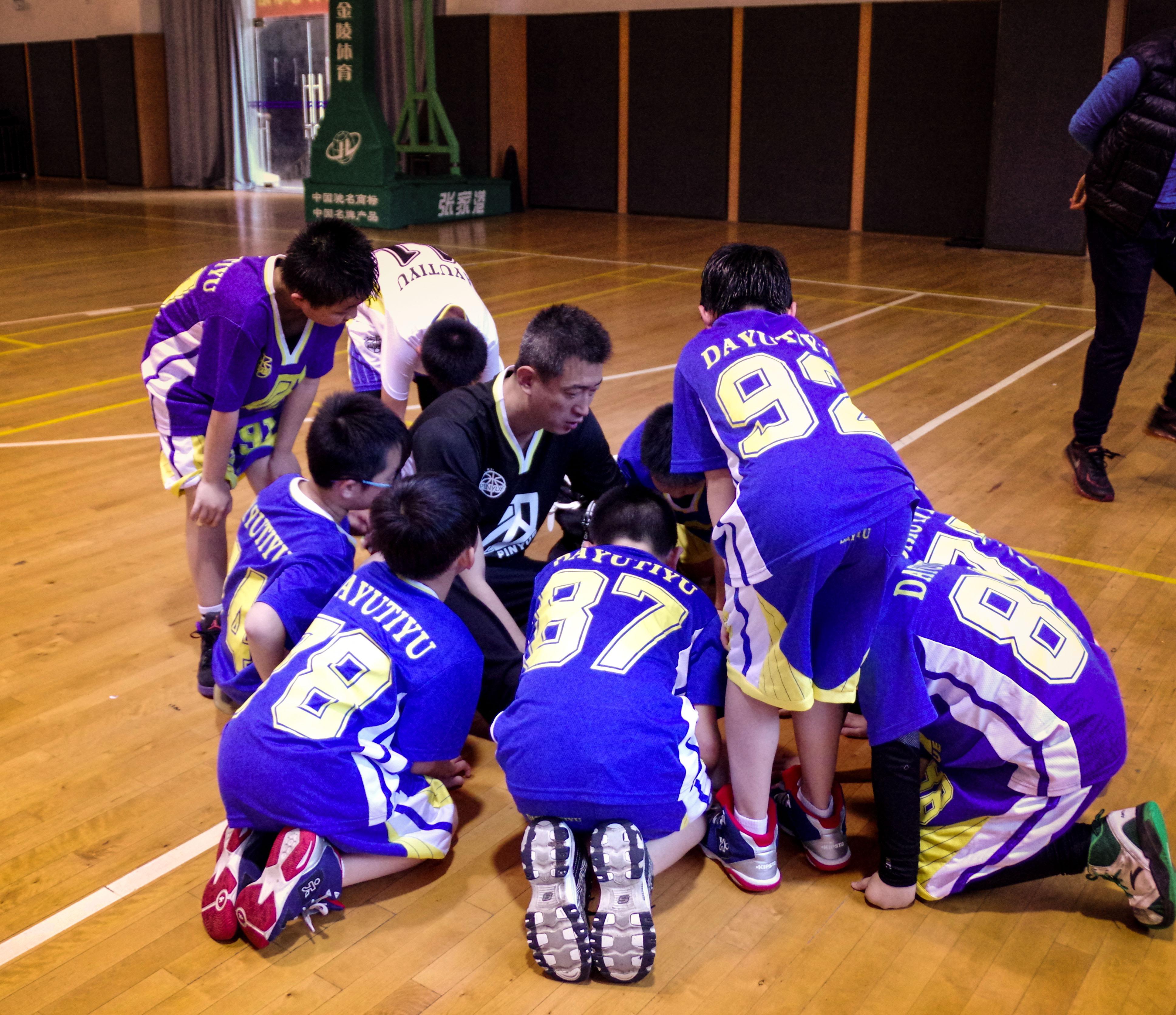 篮球中级班教学(10-16岁)