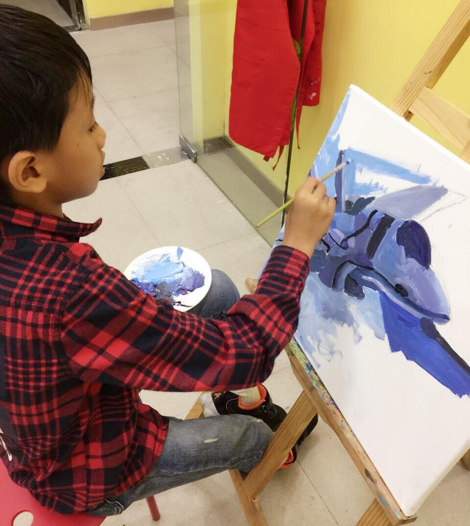 油画色彩班7-18岁美术课程图片