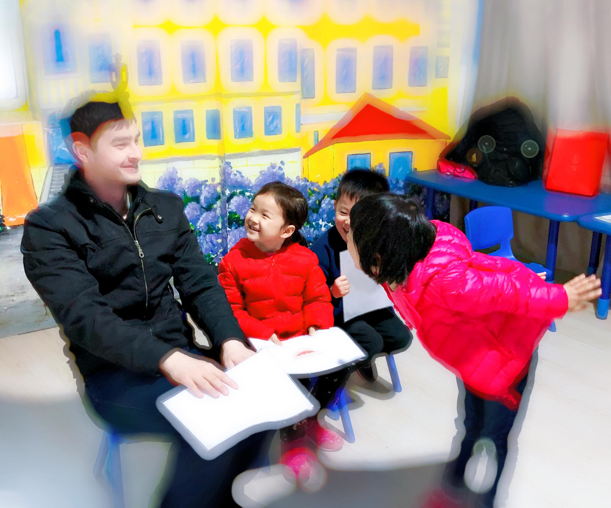 幼儿阶段外教英语