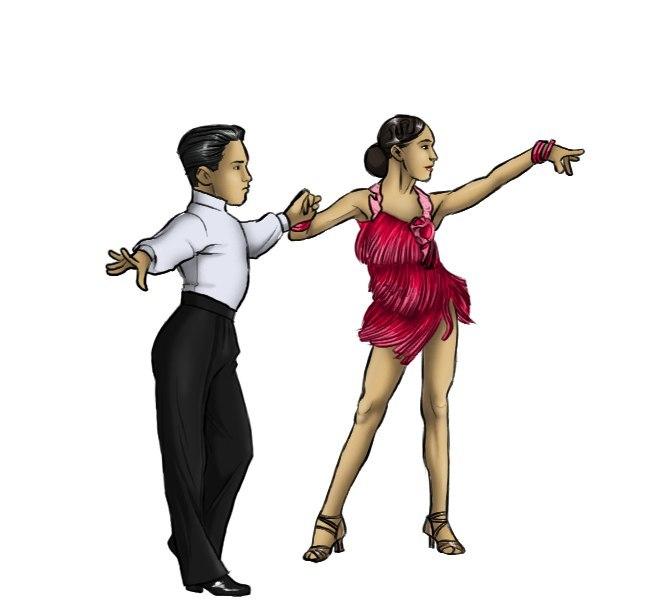 拉丁舞训练课