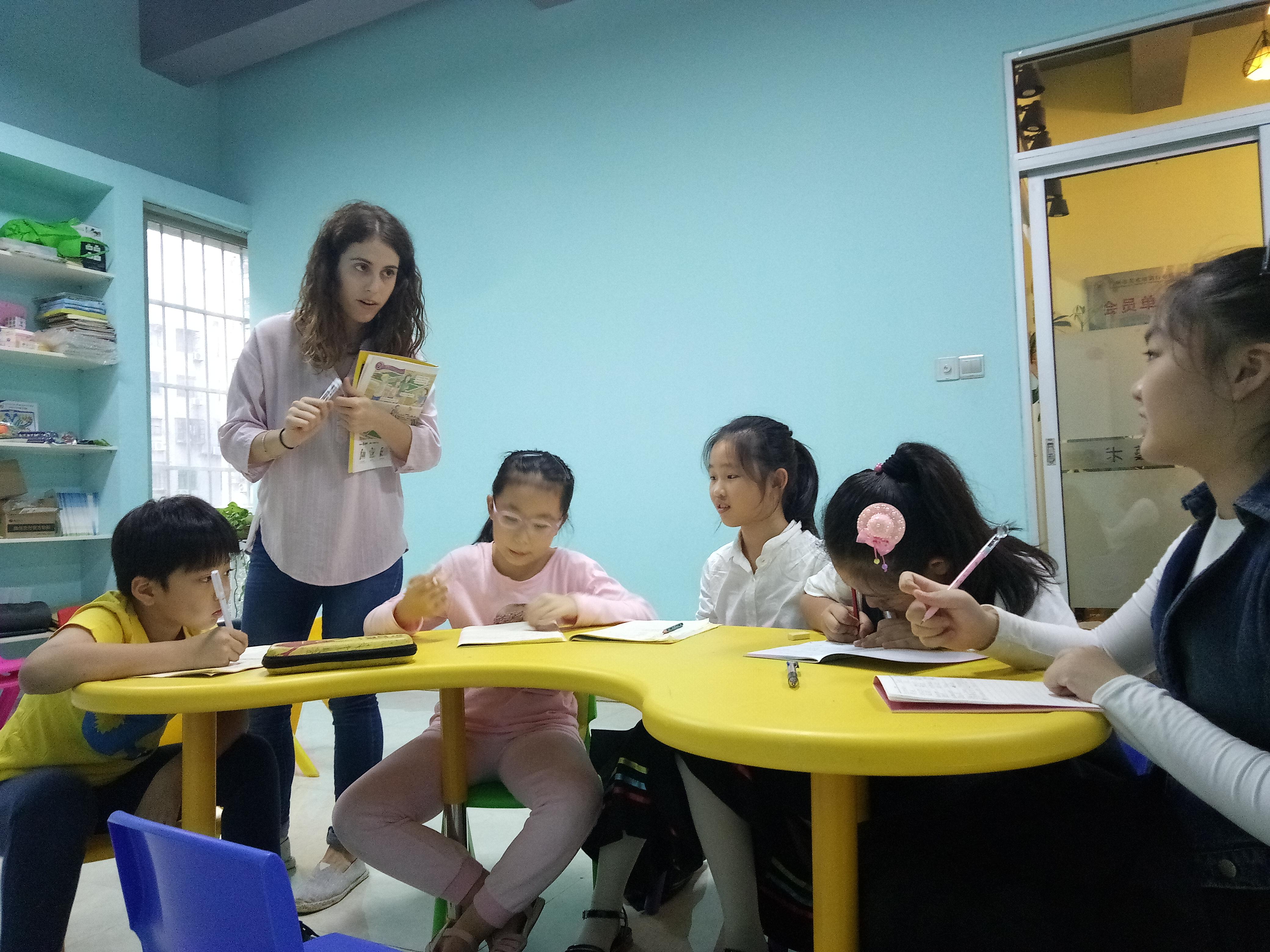 外教英语班:5~12岁