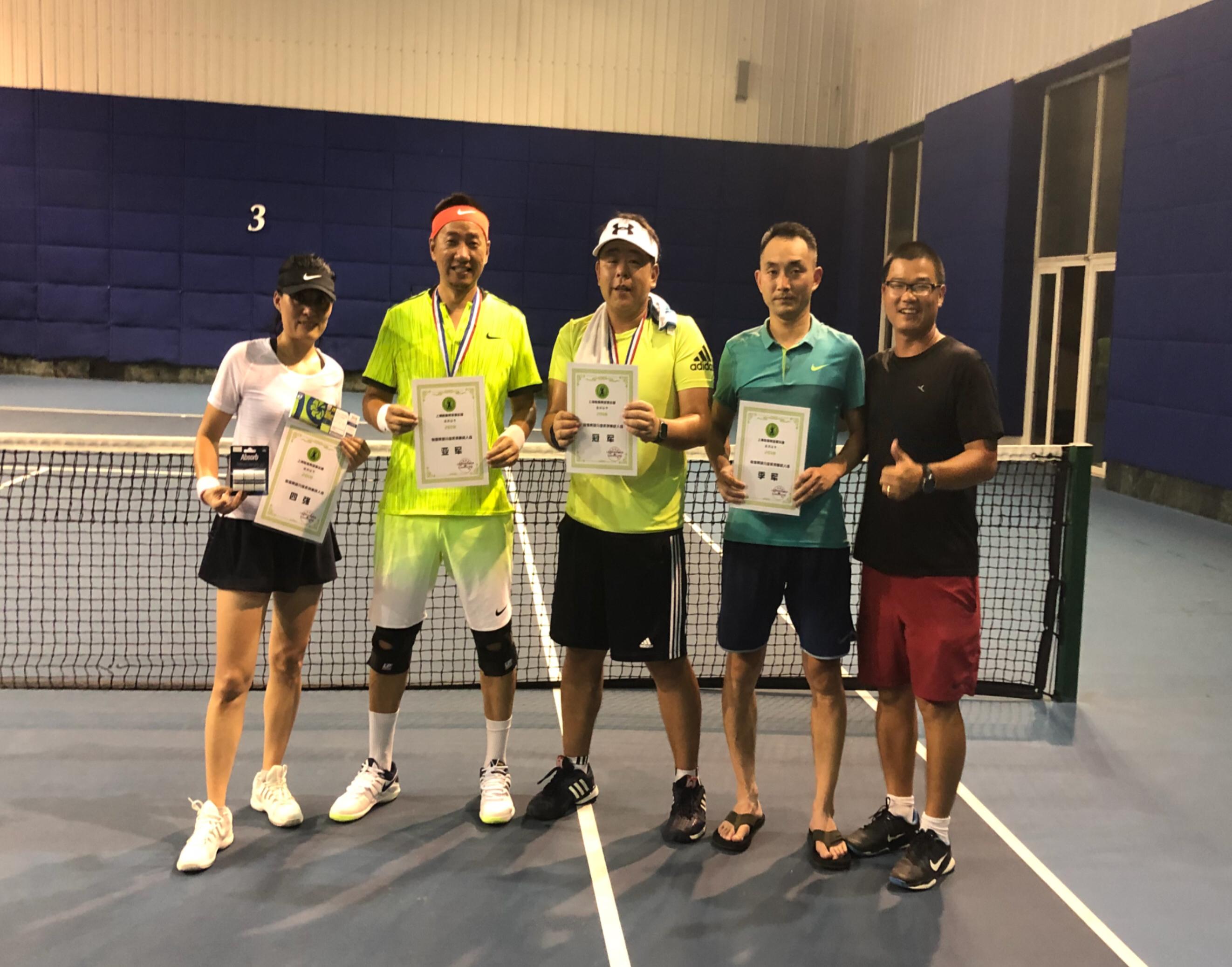 企业网球培训班
