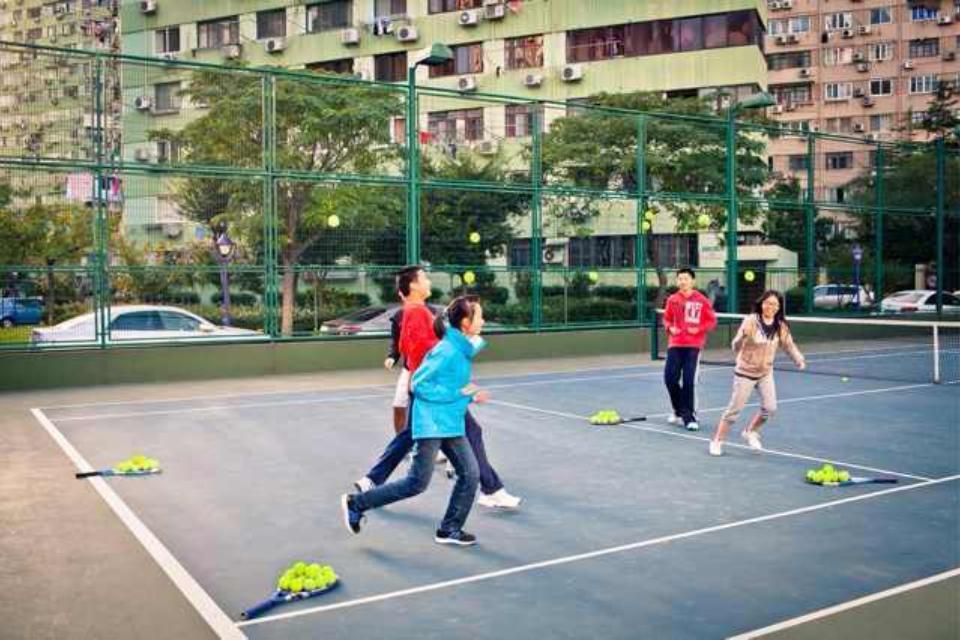 青少年网球基础班