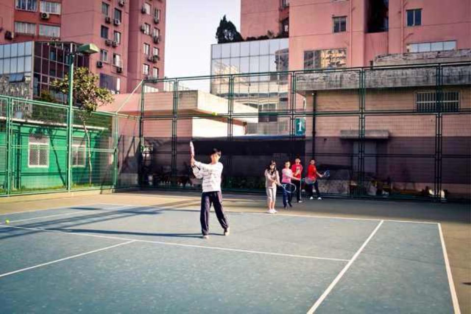 青少年网球技术提高班