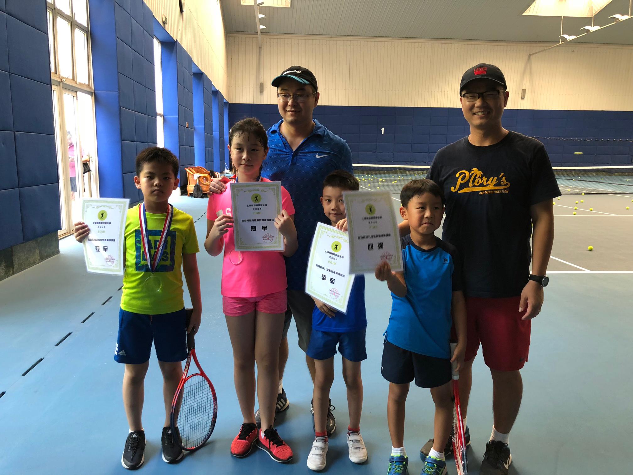 青少年网球战术强化班