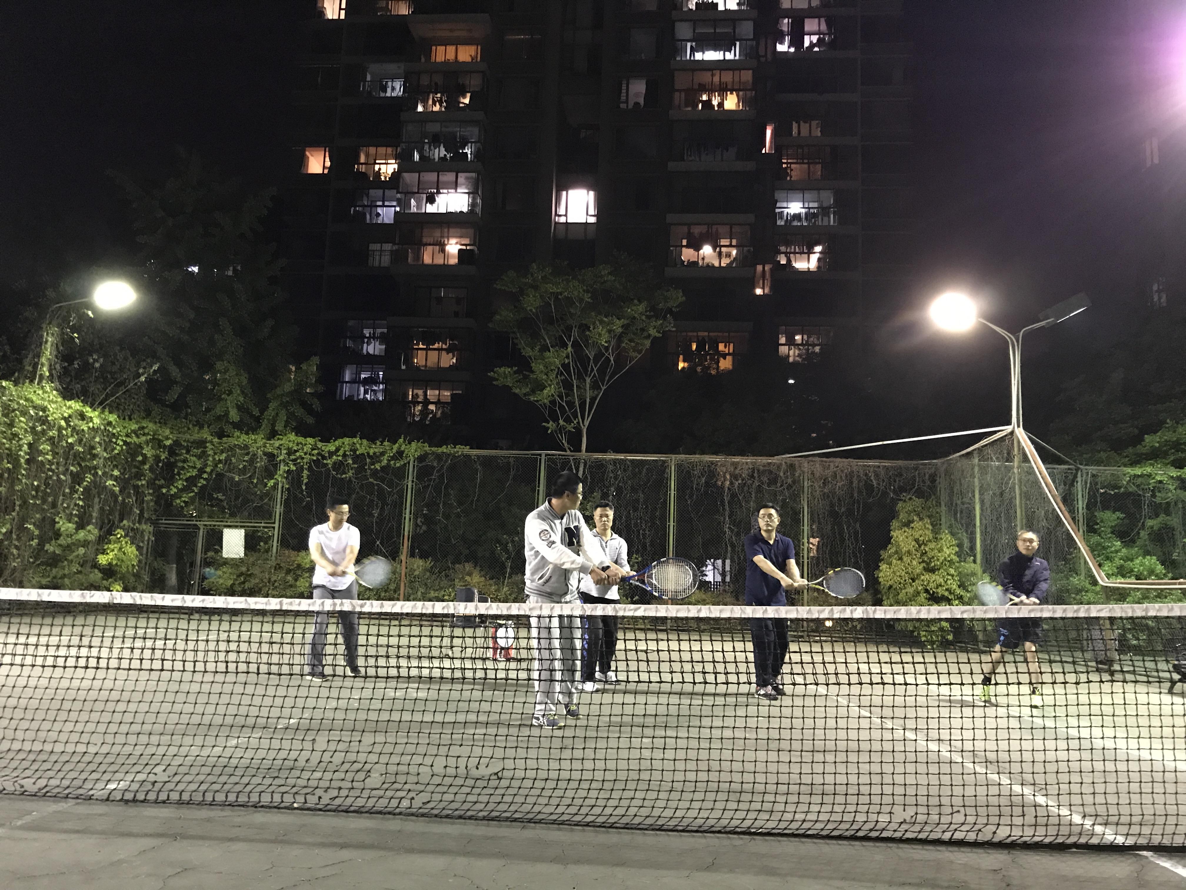 成人网球基础班