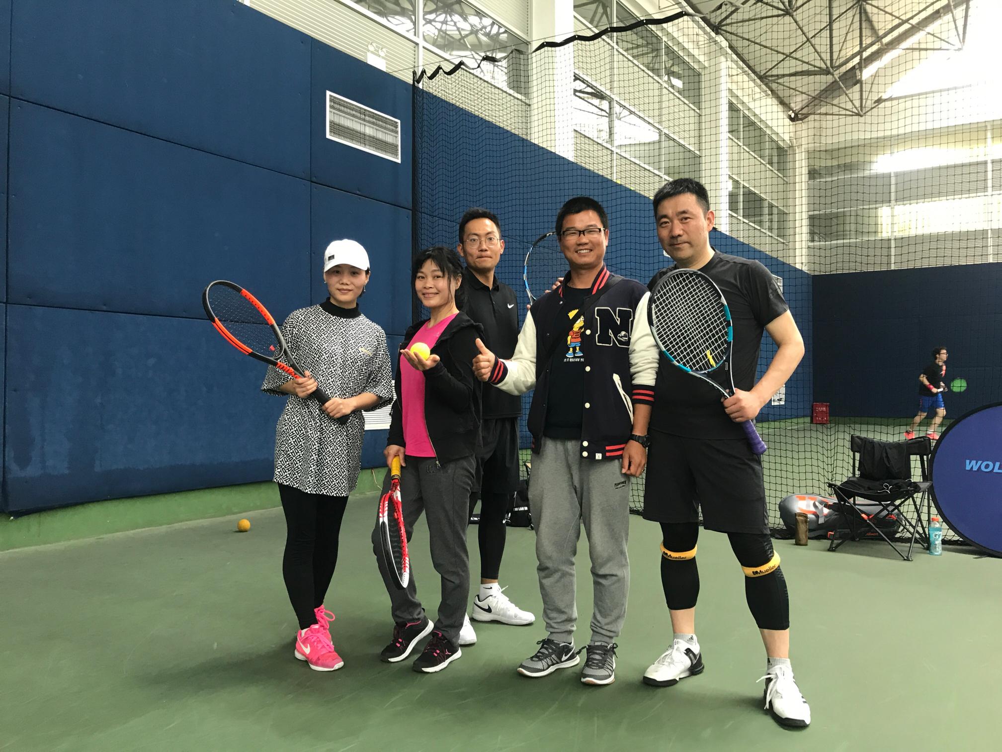 成人网球技术提高班