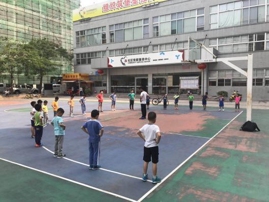 青少年篮球―基础班