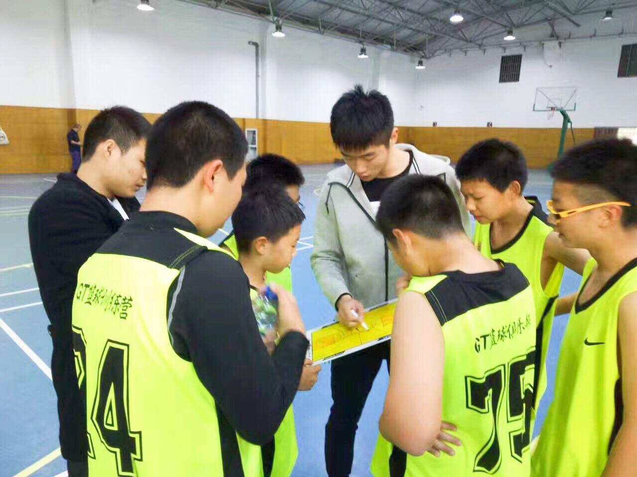 中考篮球技能特训班