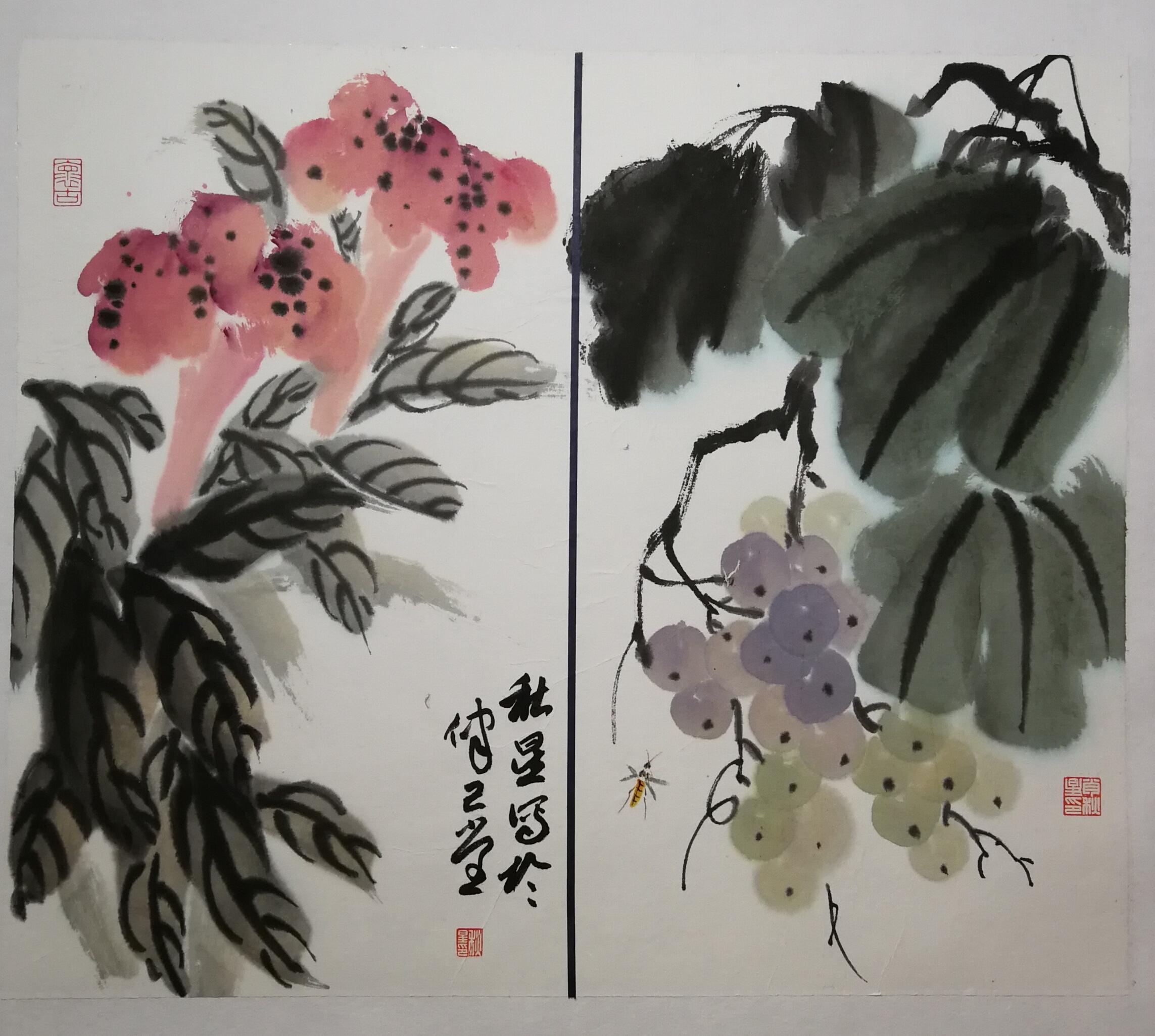 梧桐树下国画班-财大校区