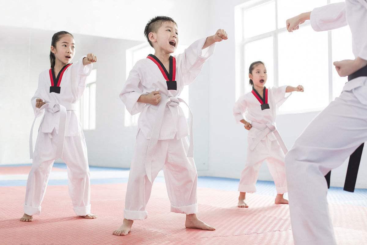 跆拳道体验课