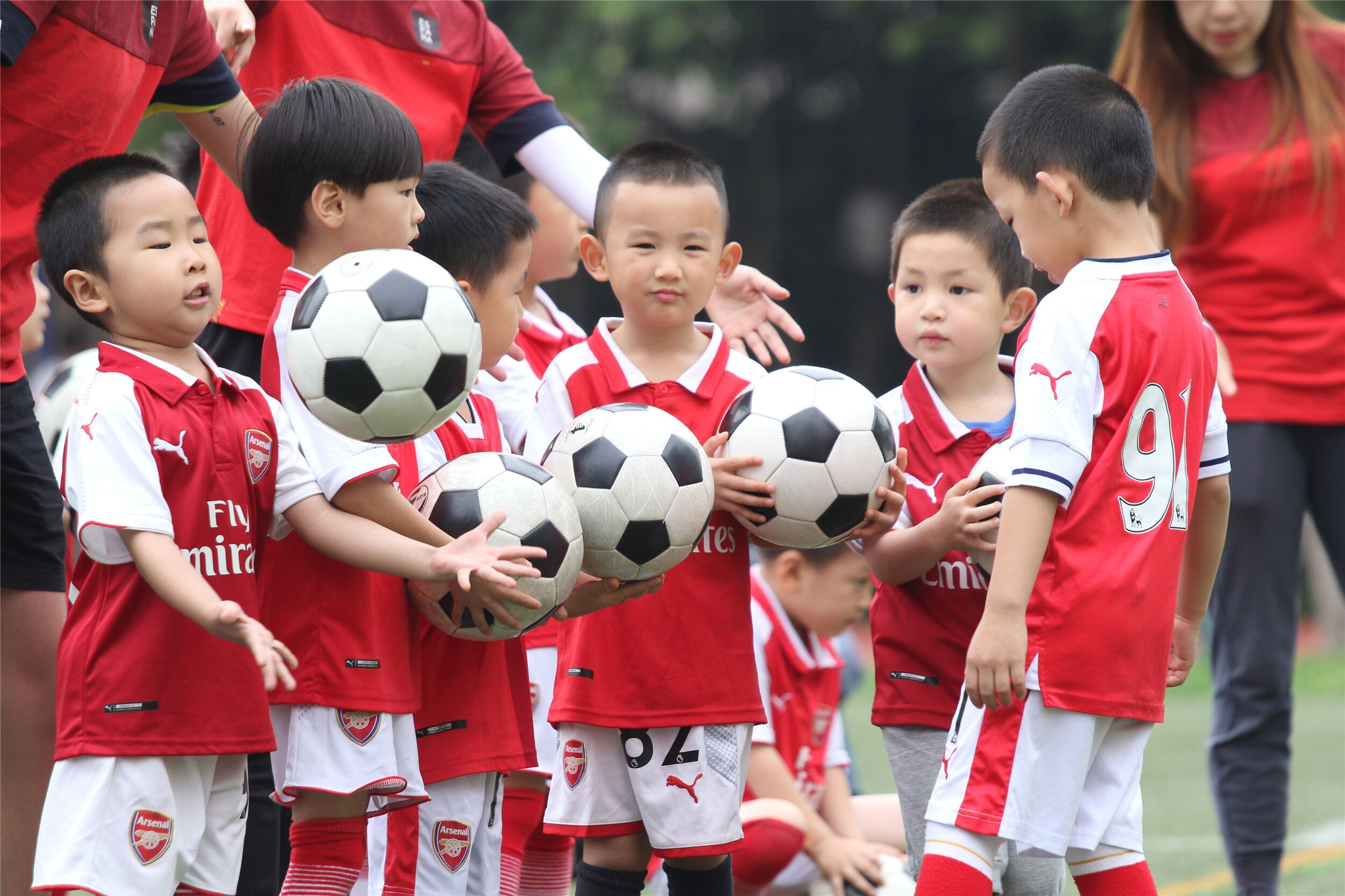 冠军少儿足球 小小冠军班