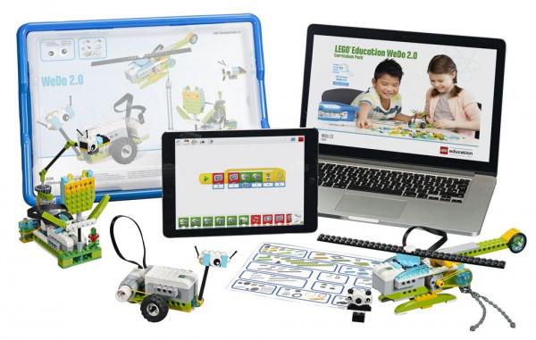 小学初级:动力机械、WeDo 2.0编程课程