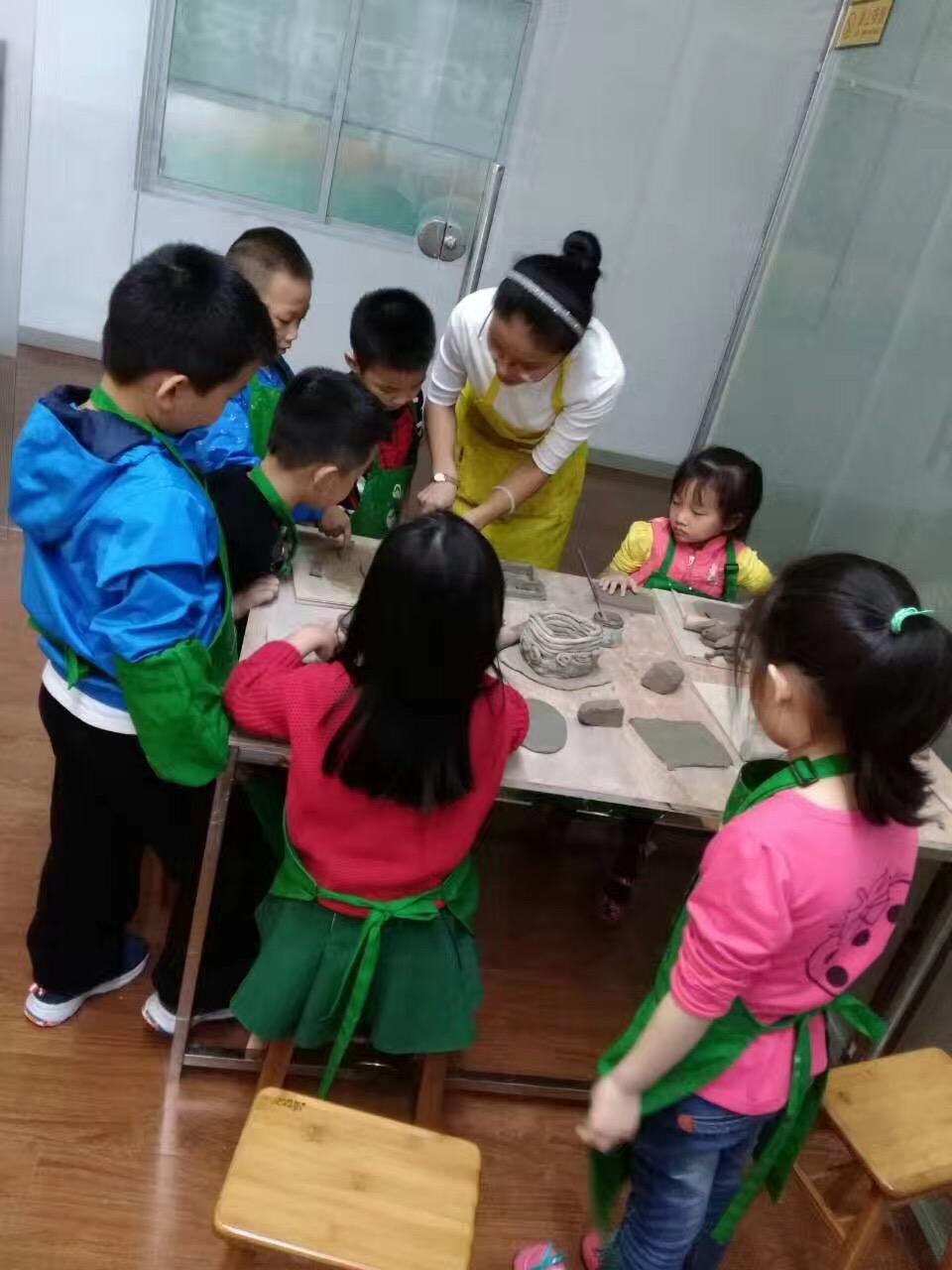豌豆荚趣味陶艺课程