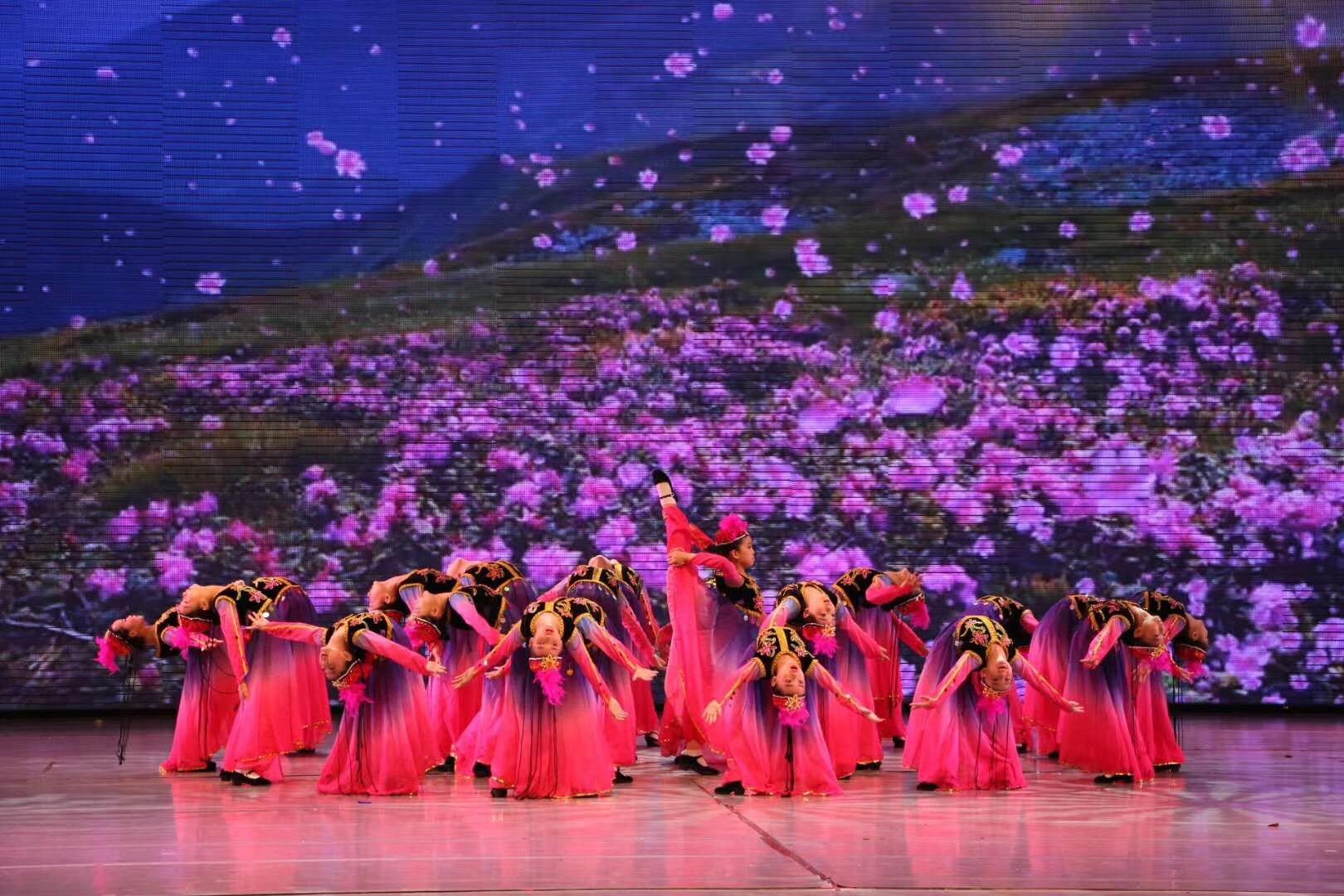 中国舞蹈集体课