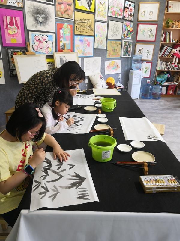 国画创作班(8-16岁)