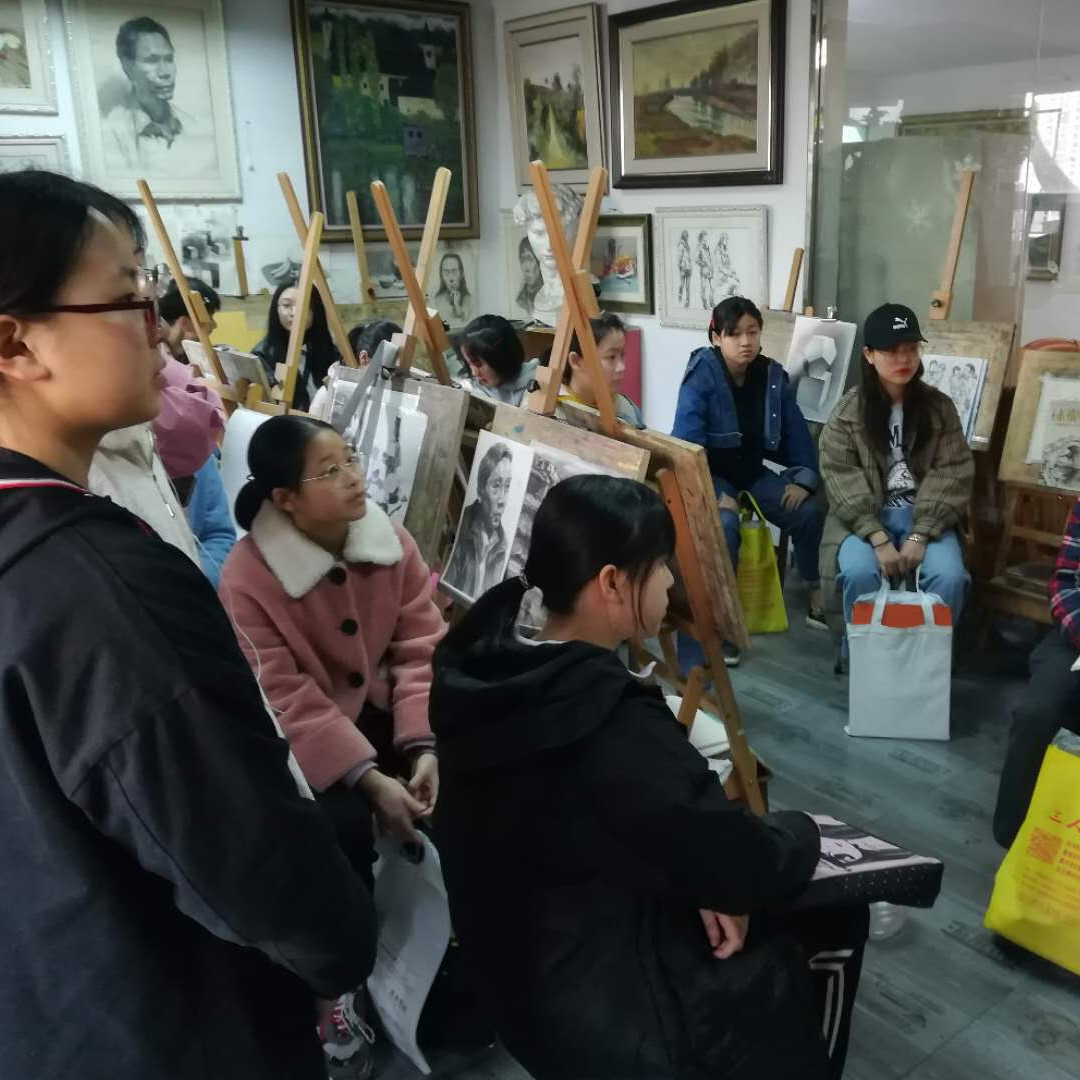中高考美术课