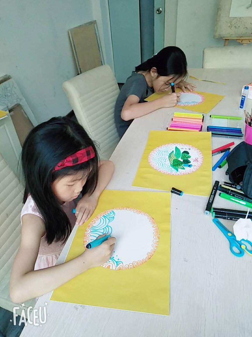 儿童创意素描基础班