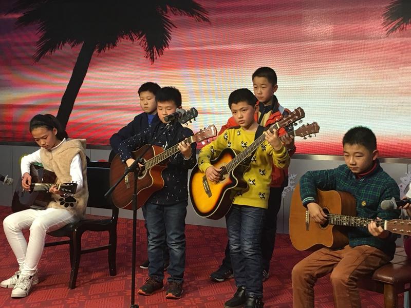 吉他一对二课程