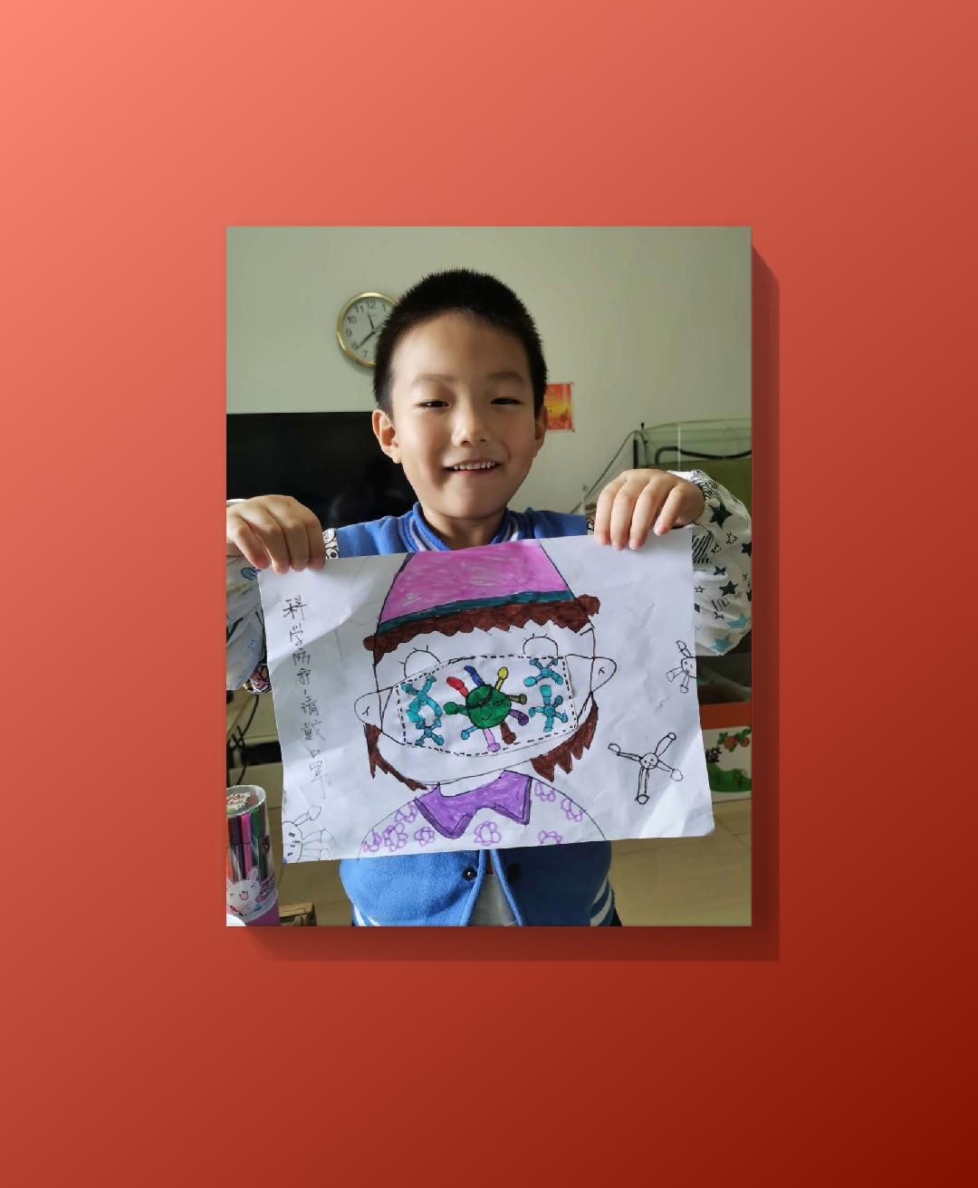 小童大作画画第三期-水果拼盘-5-7岁